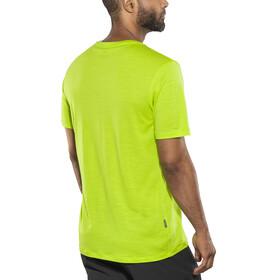 Icebreaker Tech Lite SS Crewe Shirt Men citron